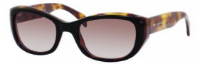 Tommy Hilfiger 1088/S Sunglasses Sunglasses - 0UR0 Black Dark Tortoise / HA Brown Gradient Lens