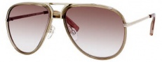 Tommy Hilfiger 1091/S Sunglasses Sunglasses - 0YZT Light Gold / S8 Brown Gradient Lens