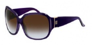 Givenchy SGV696 Sunglasses Sunglasses - 7NB Violet / Gradient Brown Lens