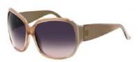 Givenchy SGV696 Sunglasses Sunglasses - 7PF Beige / Gradient Violet Lens