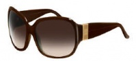 Givenchy SGV696 Sunglasses Sunglasses - 7NC Shiny Brown / Gradient Brown Lens