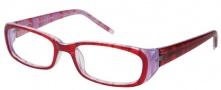 Modo 5007 Eyeglasses Eyeglasses - Burgundy Lines