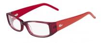 Lacoste L2607 Eyeglasses Eyeglasses - 615 Red