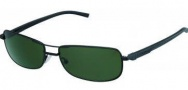 Tag Heuer Automatic Vintage 0885 Sunglasses Sunglasses - 301 Black / Green Outdoor Lens