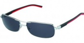 Tag Heuer Automatic Vintage 0885 Sunglasses Sunglasses - 102 Black - Red Temple / Grey Outdoor Lens
