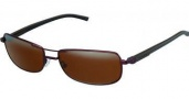 Tag Heuer Automatic Vintage 0885 Sunglasses Sunglasses - 203 Dark Brown - Black Temple / Brown Outdoor Lens