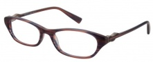 Modo 6011 Eyeglasses Eyeglasses - Red Stripe