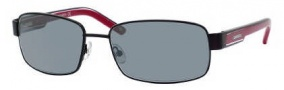 Carrera X-cede 7003/S Sunglasses Sunglasses - 1R0P Semi Matte Black / RT Gray Flash Polarized Lens