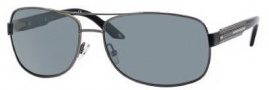 Carrera X-cede 7007/S Sunglasses Sunglasses - BGLP Dark Ruthenium Black / RT Gray Flash Polarized Lens