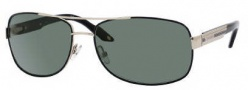 Carrera X-cede 7007/S Sunglasses Sunglasses - BR1P Gold Black / RZ Green Polarized Lens
