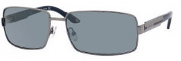 Carrera X-cede 7008/S Sunglasses Sunglasses - 1D3P Ruthenium / RT Gray Flash Polarized Lens