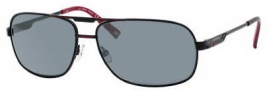 Carrera X-cede 7009/S Sunglasses Sunglasses - 807P Black / RT Gray Flash Polarized Lens