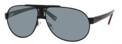 Carrera X-cede 7010/S Sunglasses Sunglasses - 1L3P Matte Black / RT Gray Flash Polarized Lens