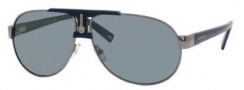 Carrera X-cede 7010/S Sunglasses Sunglasses - 1D3P Ruthenium / RT Gray Flash Polarized Lens