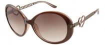 Guess GU 7107 Sunglasses Sunglasses - BRN-34: Brown Crystal