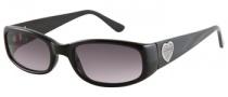 Guess GU 7125 Sunglasses Sunglasses - BLK-3: Solid Black