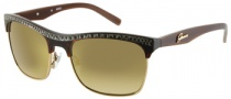 Guess GU 7137 Sunglasses Sunglasses - BRN-87F: Brown