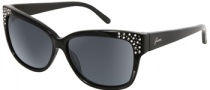 Guess GU 7140 Sunglasses  Sunglasses - BLK-35: Solid Black