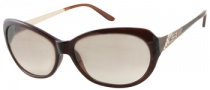 Guess GU 7104 Sunglasses Sunglasses - BRN-1: Dark Brown