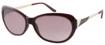 Guess GU 7104 Sunglasses Sunglasses - BU-52: Dark Burgundy