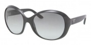 Prada PR 04OS Sunglasses Sunglasses - 1AB3M1 Black / Gray Gradient