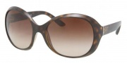 Prada PR 04OS Sunglasses Sunglasses - 2AU6S1 Havana / Brown Gradient