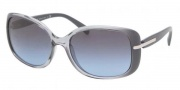 Prada PR 08OS Sunglasses Sunglasses - IAB5I1 Avio Transparent Gradient / Avio Apal Blue Gray Gradient