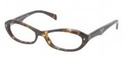 Prada PR 11OV Eyeglasses Eyeglasses - 2AU1O1 Havana