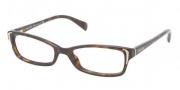 Prada PR 12OV Eyeglasses Eyeglasses - 2AU1O1 Havana