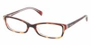 Prada PR 12OV Eyeglasses Eyeglasses - FAK1O1 Top Gradient Havana Pink