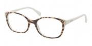 Prada PR 13OV Eyeglasses Eyeglasses - GAB1O1 Top Yellow Dirty White