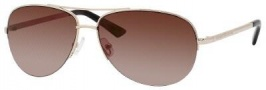 Kate Spade Valma/S Sunglasses Sunglasses - 03YG Gold (WQ Brown Shaded Gold Flash Lens)