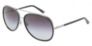 Dolce & Gabbana DG2098 Sunglasses Sunglasses - 10888G Gunmetal / Gray Gradient