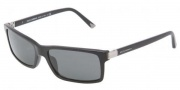 Dolce & Gabbana DG4122 Sunglasses Sunglasses - 501/87 Shiny Black / Gray