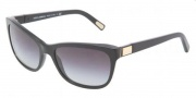 Dolce & Gabbana DG4123 Sunglasses Sunglasses - 501/8G Black / Gray Gradient