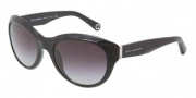 Dolce & Gabbana DG4128 Sunglasses Sunglasses - 501/8G Black / Gray Gradient