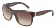 Dolce & Gabbana DG4129 Sunglasses Sunglasses - 195968 Violet / Brown Gradient Violet