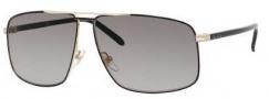 Gucci 2214/K/S Sunglasses Sunglasses - 0WRU Shiny Black (EU Gray Gradient Lens)
