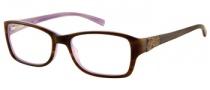 Guess GU 2274 Eyeglasses Eyeglasses - AMB: Amber Horn