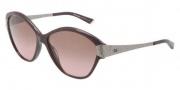Dolce & Gabbana DG4130 Sunglasses Sunglasses - 196414 Bordeaux Marble Brown / Gradient Pink