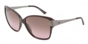 Dolce & Gabbana DG4131 Sunglasses Sunglasses - 196414 Bordeaux Marble Brown / Gradient Pink