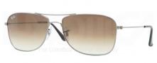 Ray-Ban RB3477 Sunglasses Sunglasses - 004/51 Gunmetal / Crystal Brown Gradient