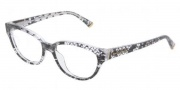 Dolce & Gabbana DG3116 Eyeglasses Eyeglasses - 1901 Black Lace