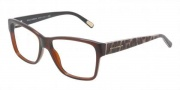 Dolce & Gabbana DG3126 Eyeglasses Eyeglasses - 1830 Brown