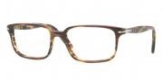 Perosl PO3013V Eyeglasses Eyeglasses - 938 Green Striped Brown
