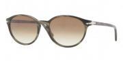 Persol PO3015S Sunglasses Sunglasses - 984/51 Green Horn Brown Gradient