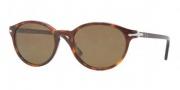 Persol PO3015S Sunglasses Sunglasses - 24/57 Havana / Crystal Brown Polarized