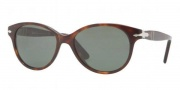 Persol PO3017S Sunglasses Sunglasses - 24/31 Havana / Crystal Green