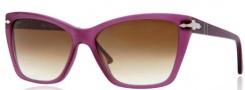 Persol PO3023S Sunglasses Sunglasses - 900251 Violet / Gradient Brown Lens