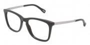 D&G DD1231 Eyeglasses Eyeglasses - 501 Black